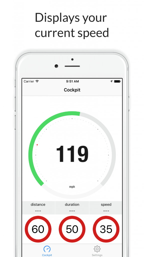 Speed Control for iPhone - your speed.