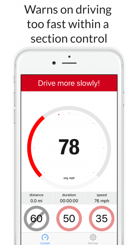 Speed Control for iPhone - too fast?